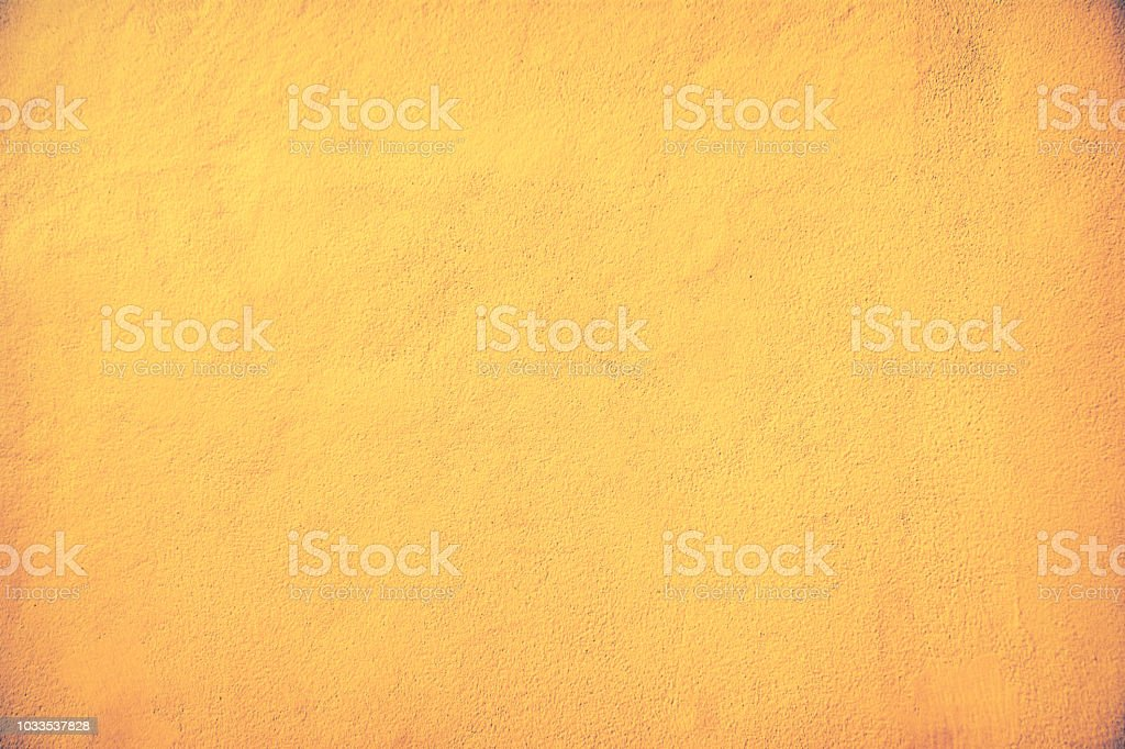 old brown and gold  color of concrete  wall  paint texture  background stock photo