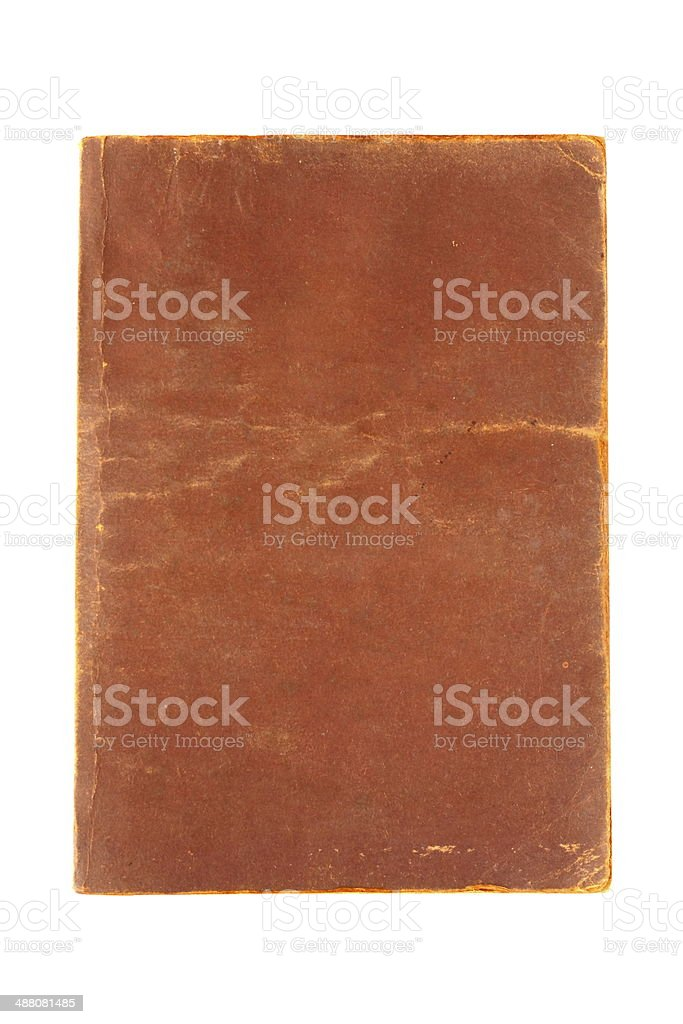 Old Brown Book3 stock photo