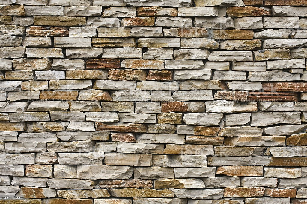 Old Brown Bricks Wall Pattern. royalty-free stock photo