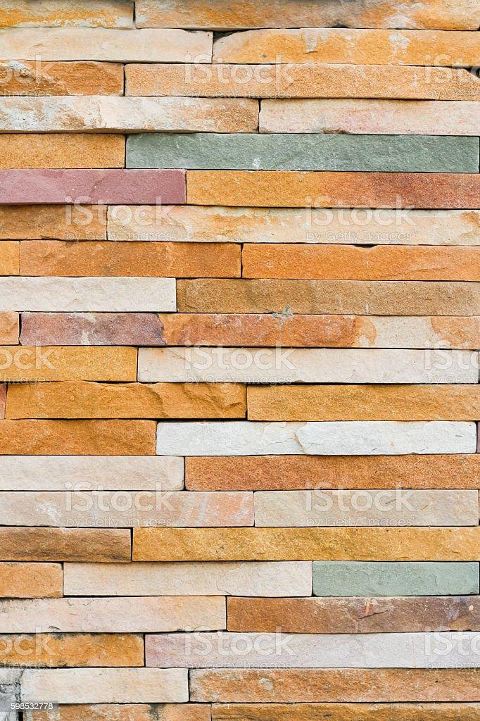 Vieux mur de briques motif brun. photo libre de droits