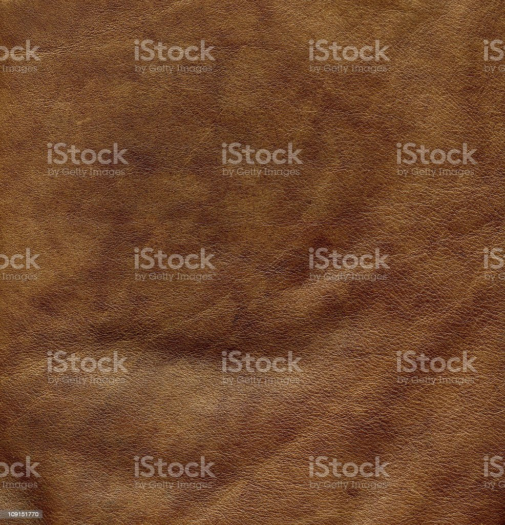 old brown leather royalty-free stock photo