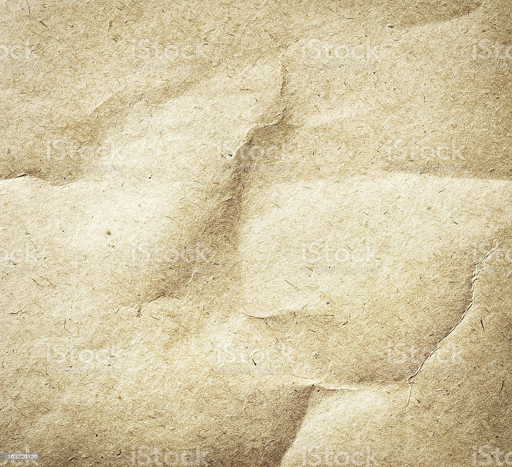 Old brown paper template royalty-free stock photo