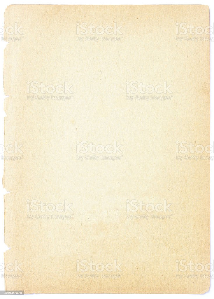 Old brown paper texture stock photo