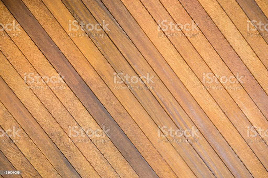 Old Brown wood plank wall texture background stock photo