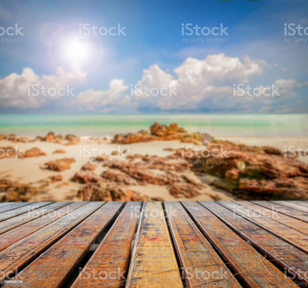 Old brown wood table top royalty-free stock photo