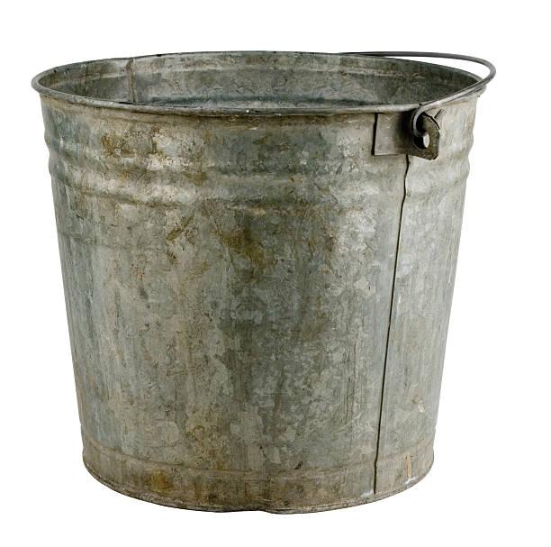 Old Bucket stock photo