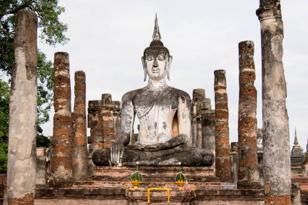 Alten Buddha-Statue im Sukhothai Thailand - Asien – Foto
