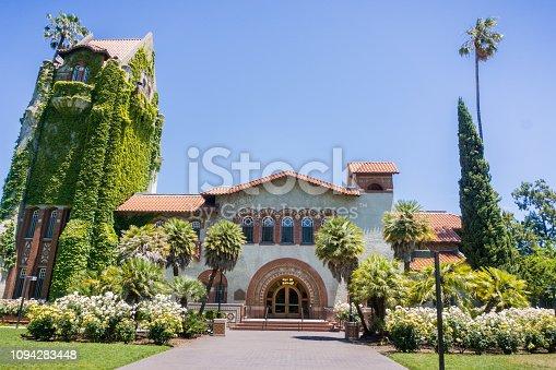 istock Old building at the San Jose State University; San Jose, California 1094283448