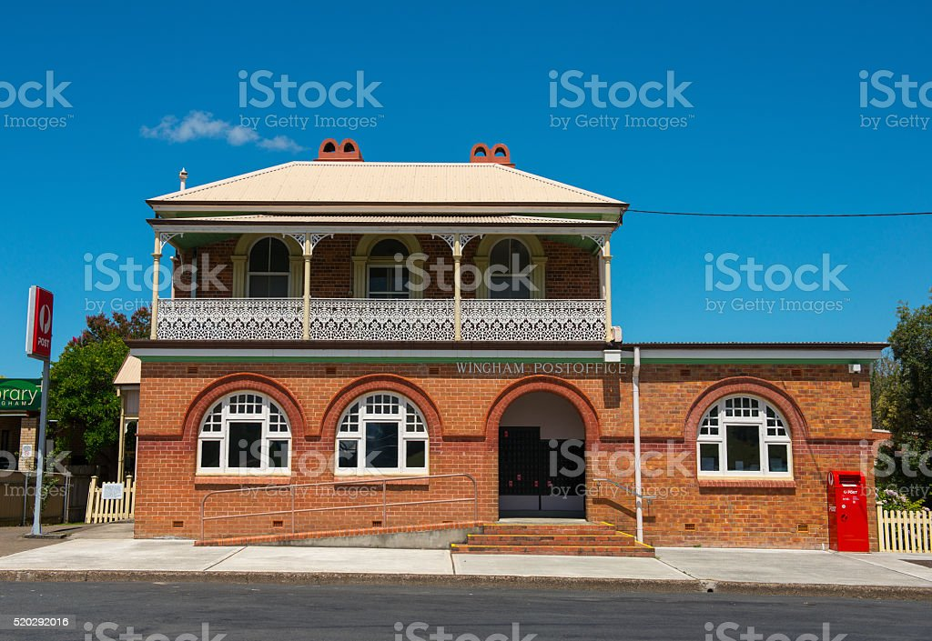 Old building in Australia stock photo