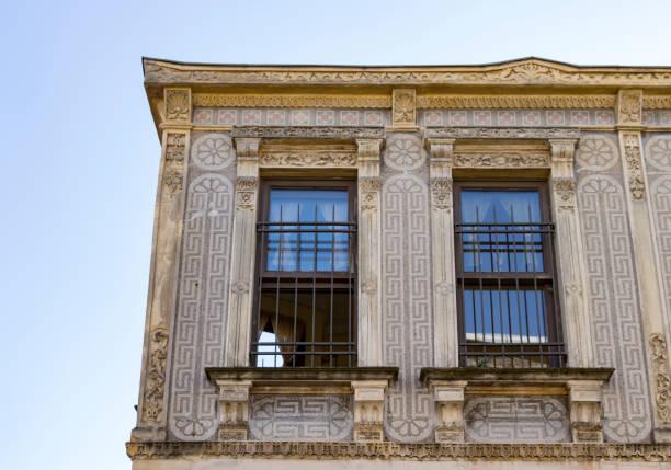 balat, istanbul, türkiye'nin eski binada. - serpilguler stok fotoğraflar ve resimler