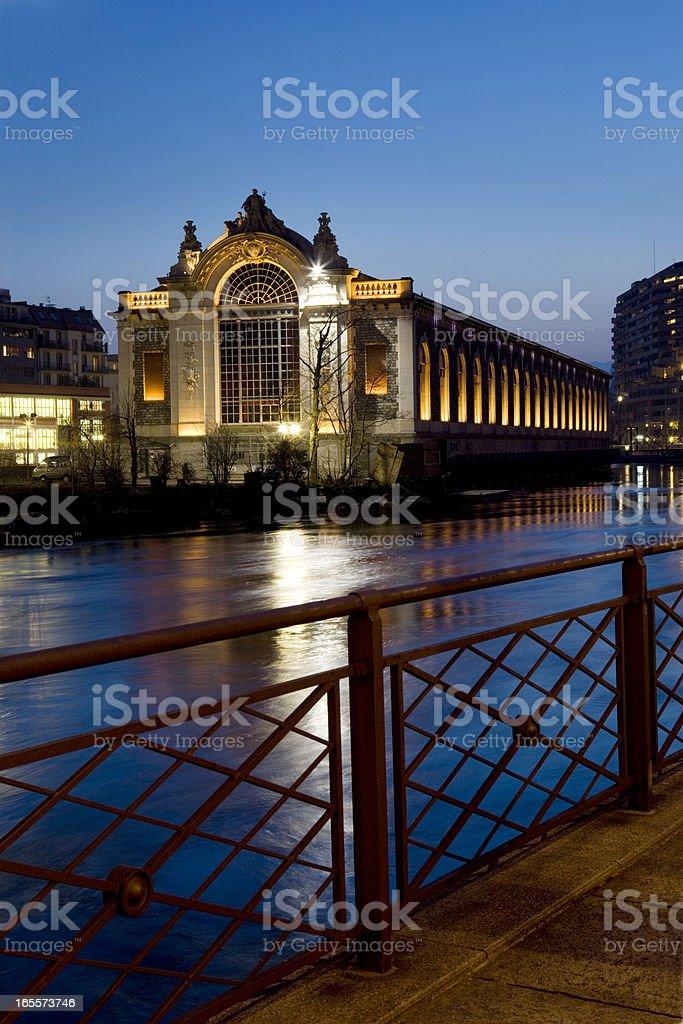 Old Building in Geneva stock photo