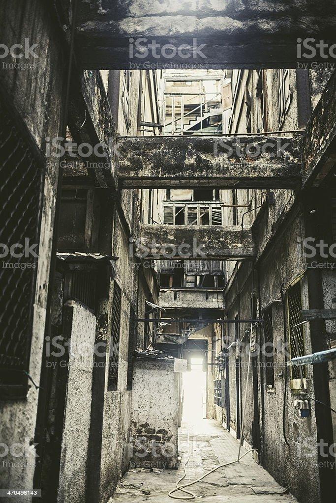 Old Building in Habana, Cuba stock photo