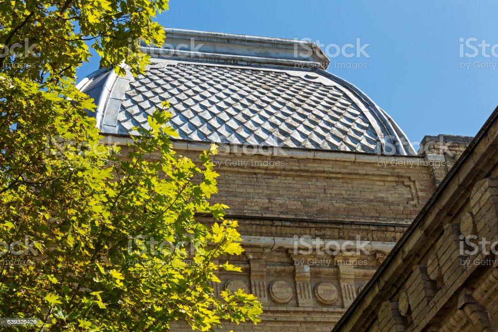 Old building  in Pyatigorsk stock photo