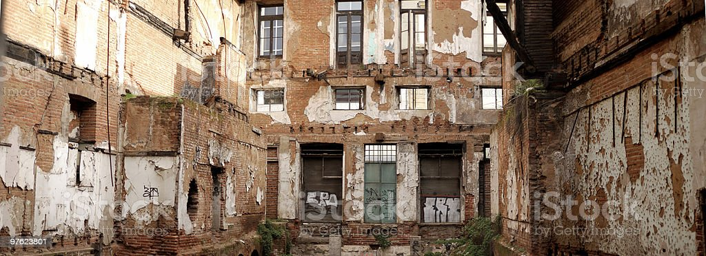 Old Building in Ruins (XXL) royalty-free stock photo