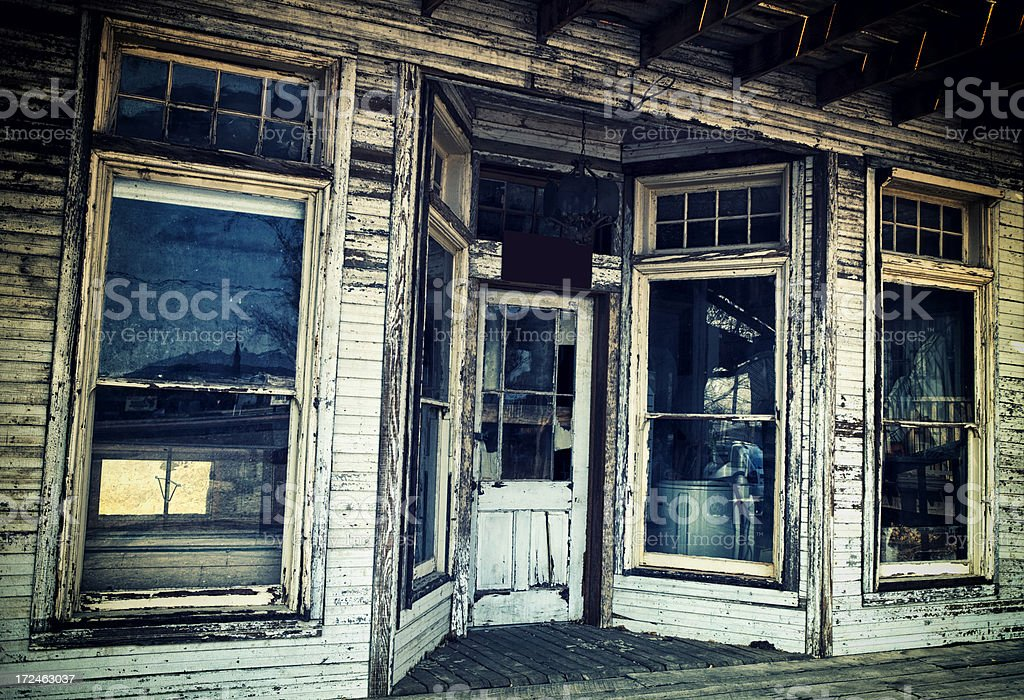 Old Building in Tombstone, Arizona royalty-free stock photo