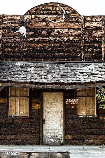 Old building in Tombstone, Arizona, USA.