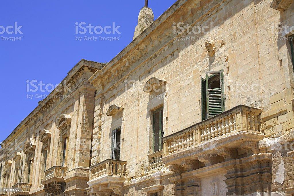 Vecchio edificio foto stock royalty-free