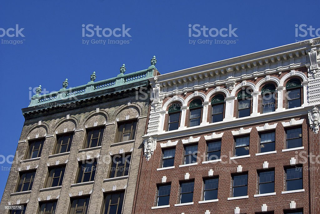 old buildings royalty-free stock photo