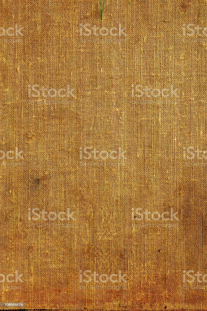 Old burlap canvas royalty-free stock photo