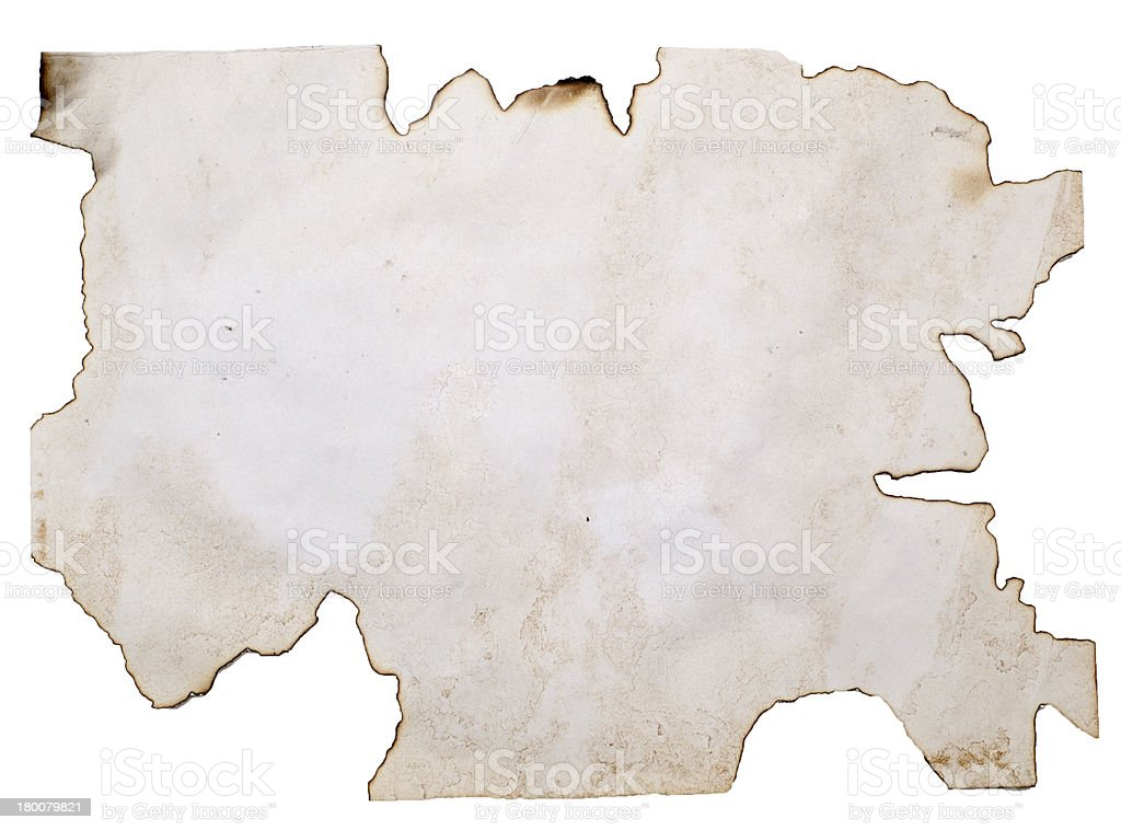 old burnt blank royalty-free stock photo