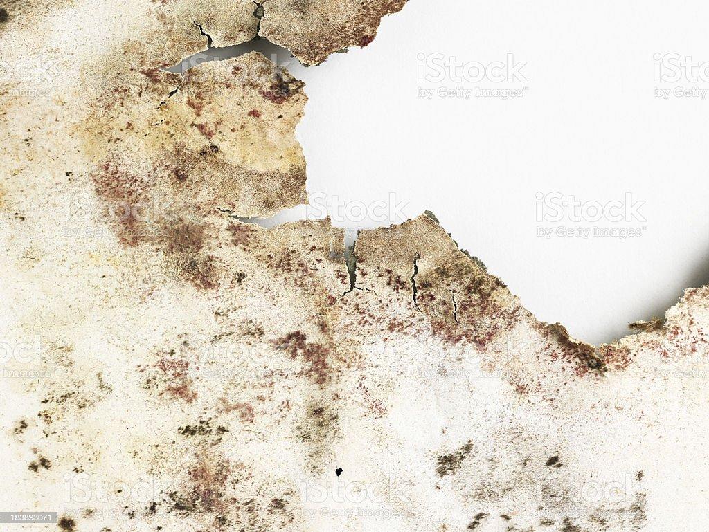 Alte, verbrannt Papier – Foto