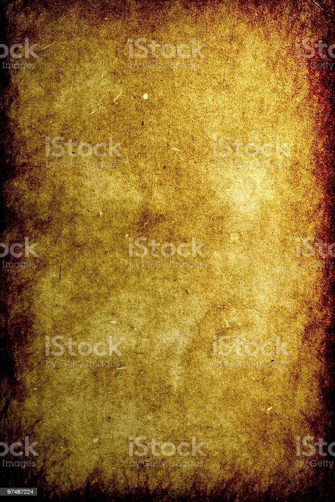 Old burnt paper royalty-free stock photo