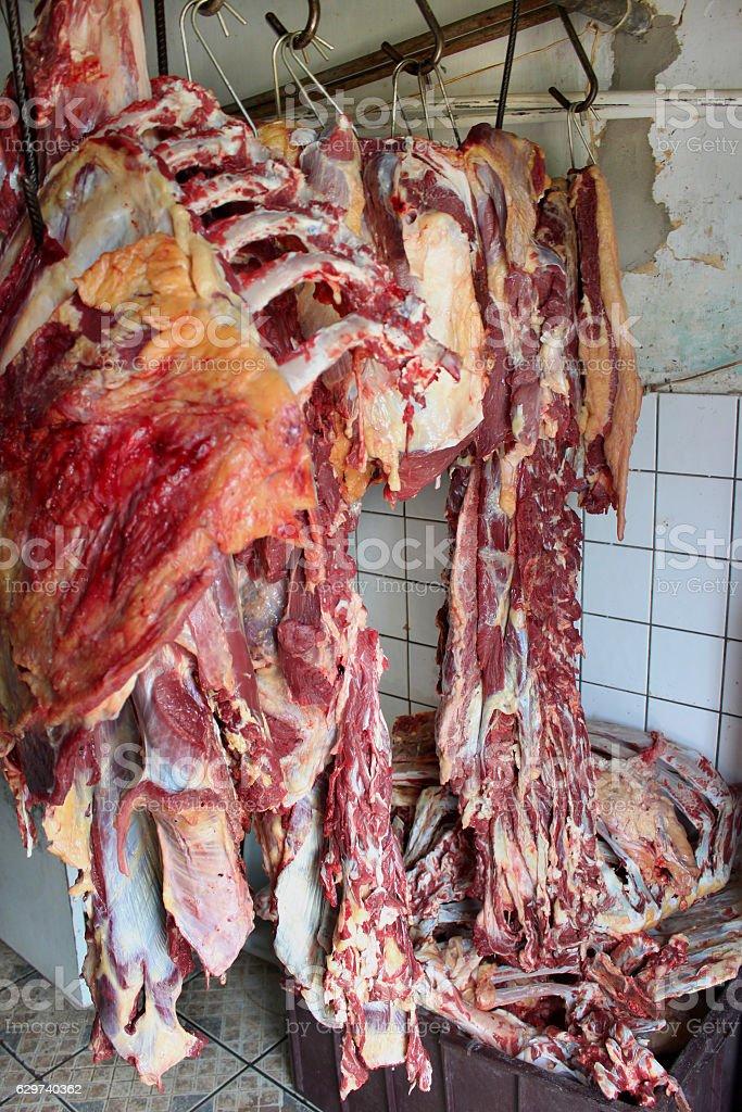 Old butcher  – Foto