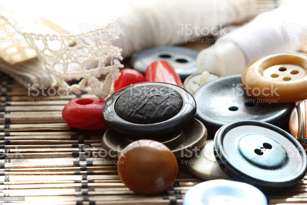 old buttons royalty-free stock photo