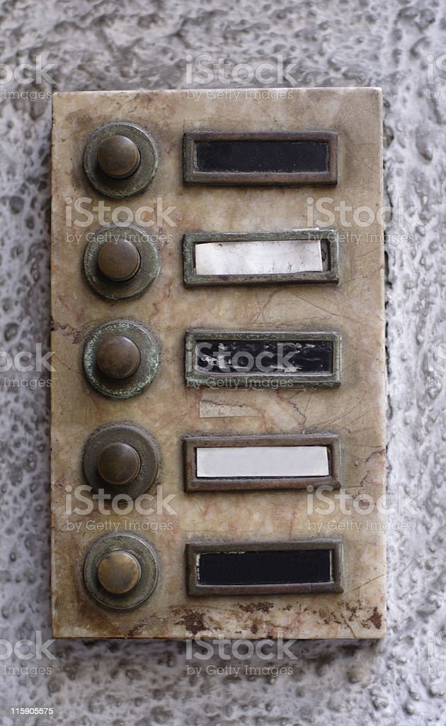 old buzzer stock photo