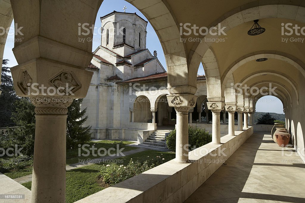 Old Byzantine Architecture stock photo