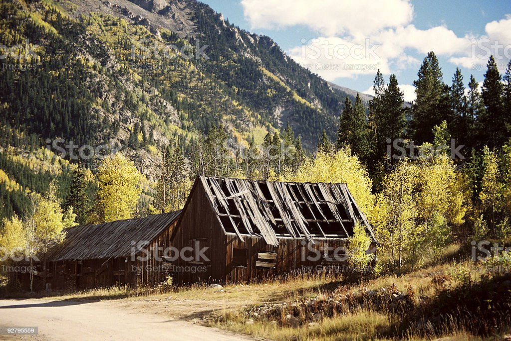 Old Cabin House royalty-free stock photo