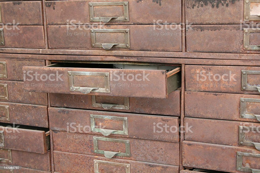 Old Cabinet royalty-free stock photo