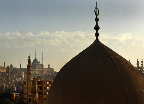 468444004 istock photo Old Cairo domes and minarets 1072249538