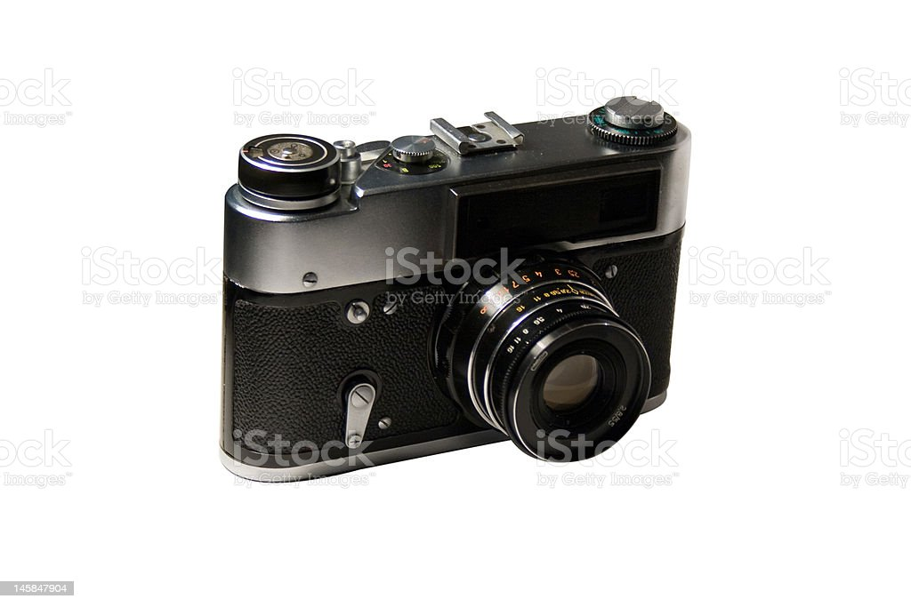 Old cam royalty-free stock photo