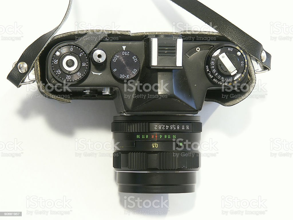 Old Camera, 35mm royalty-free stock photo