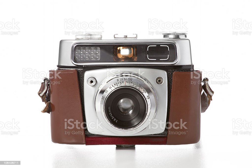 old camera stock photo