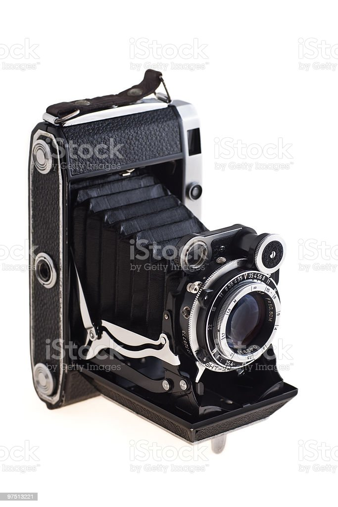 Old camera royalty-free stock photo