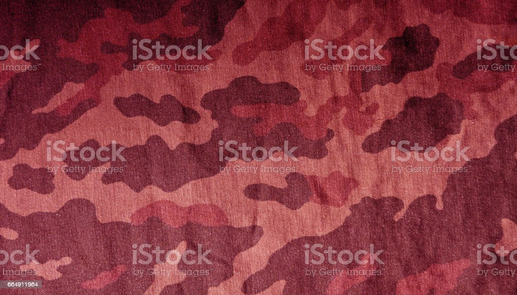 Old camouflage cloth pattern. foto stock royalty-free