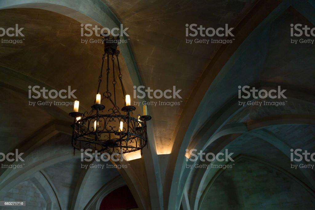 Old candelabra Lizenzfreies stock-foto
