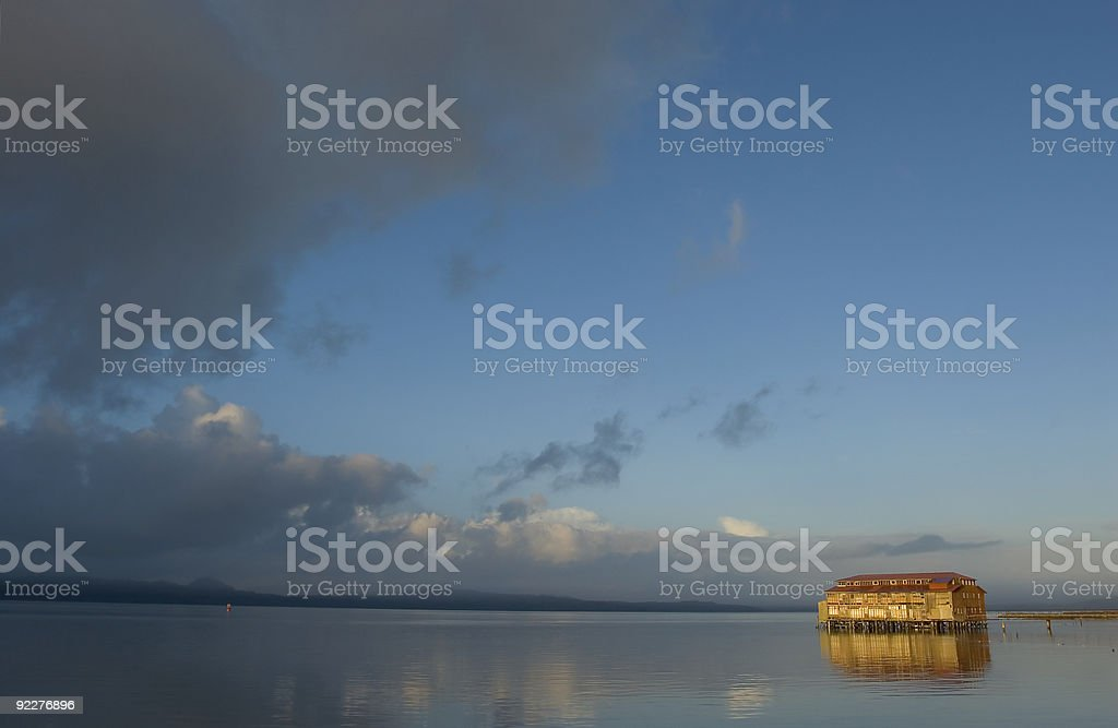 Old Cannery Building, Astoria, Oregon 2 royalty-free stock photo