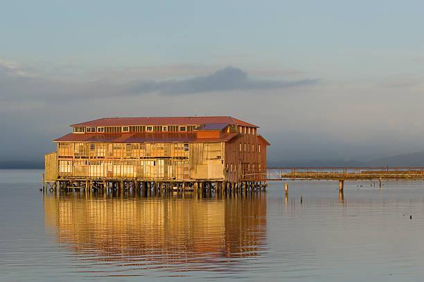 Old Cannery Gebäude, Astoria, Oregon, 4 – Foto