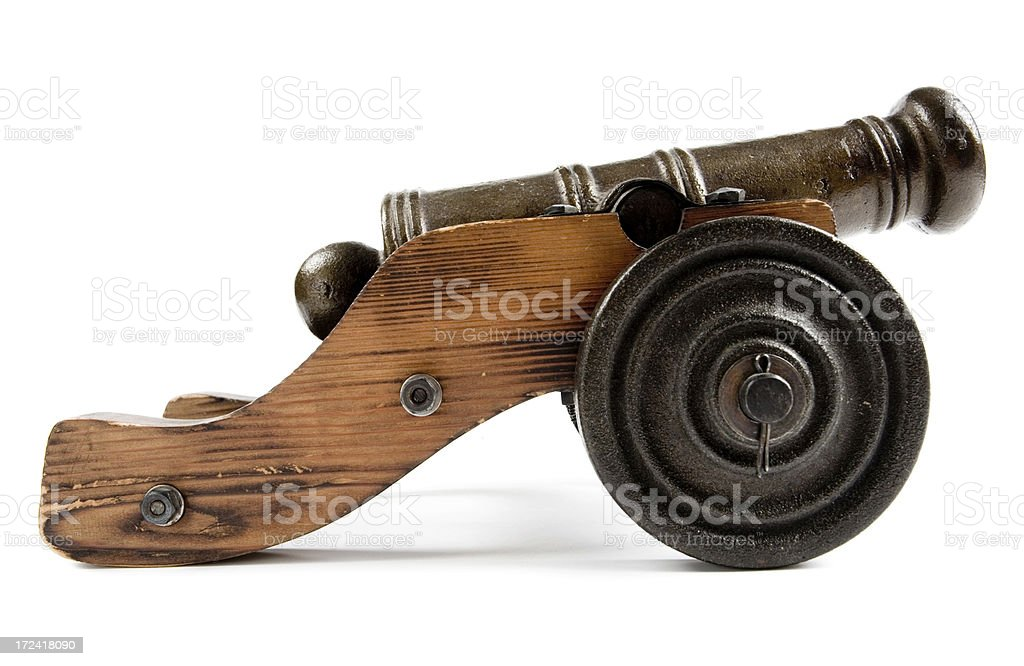 Old cannon royalty-free stock photo