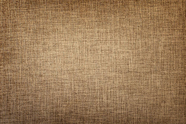 Old canvas fabric Brown canvas texture or background burlap stock pictures, royalty-free photos & images