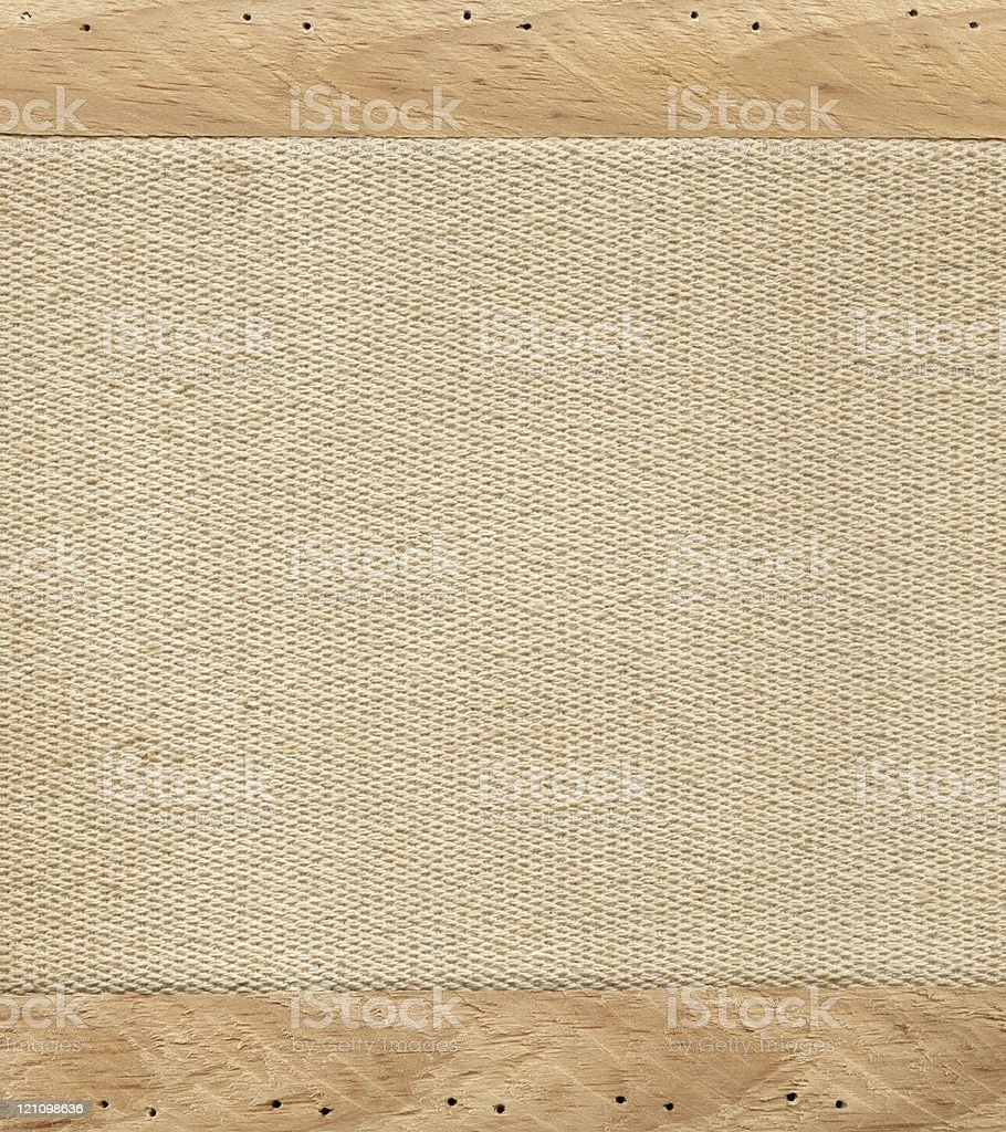 Old canvas stock photo