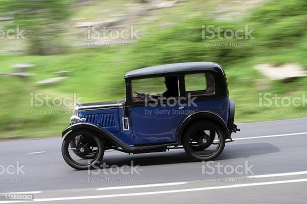 Old Car at speed