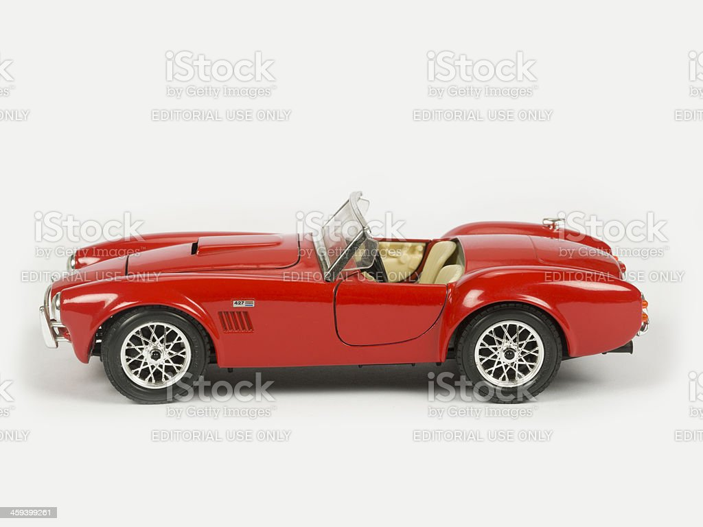Old car, Cobra 1960 royalty-free stock photo