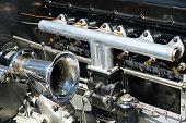istock Old car engine interior - oldtimer automobile motor - 972794314