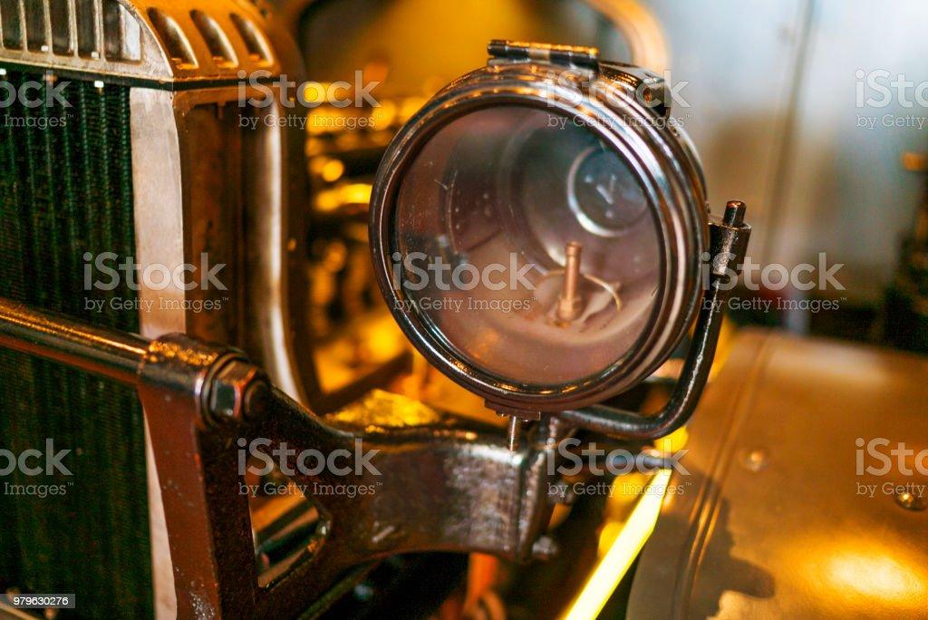Lampe De Voiture Ancienne Voiture Legere Vieux Phare Photos Et