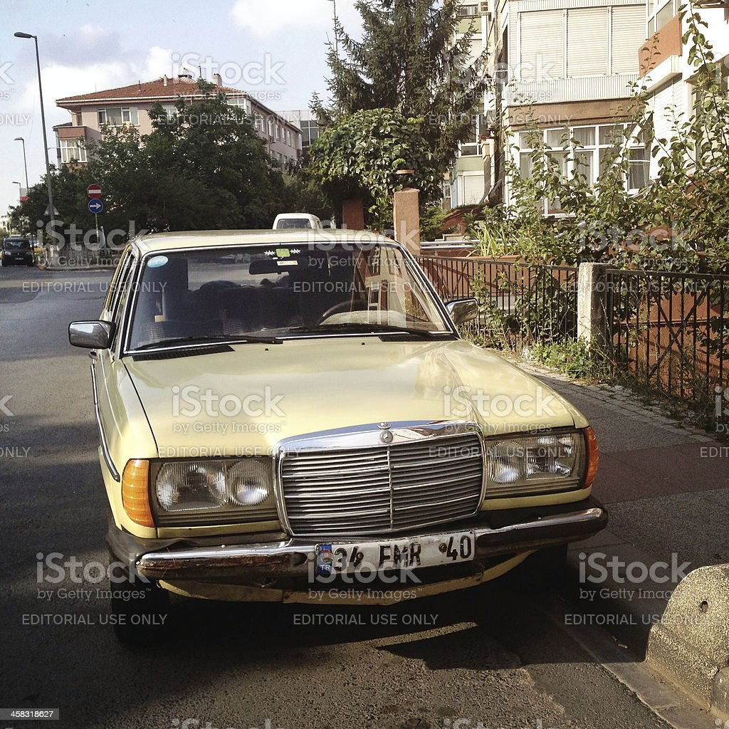 Old Car , Mercedes Benz royalty-free stock photo