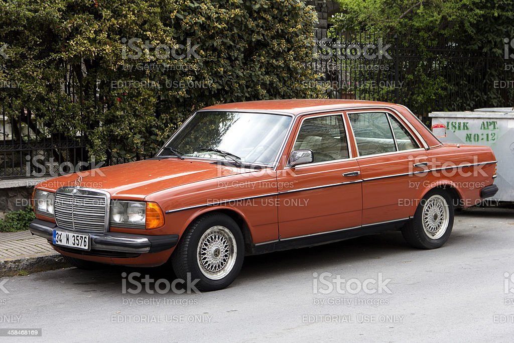 Old Car Mercedes Benz Royalty Free Stock Photo